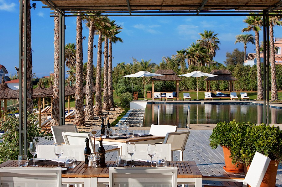 LUXUSREISEN - TRAVEL IN LUXURY  SPANIEN_LUXUS REISEN COSTA DEL SOL**FINCA CORTESIN HOTEL, GOLF & SPA, Beachclub